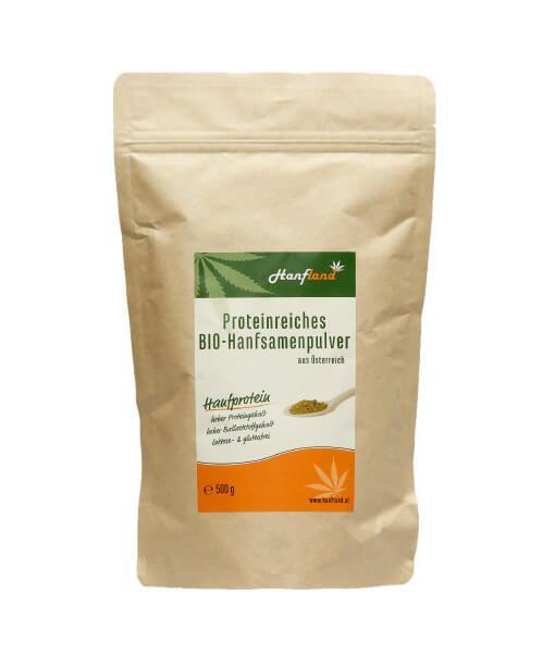 Proteinreiches Bio Hanfsamenpulver 500g