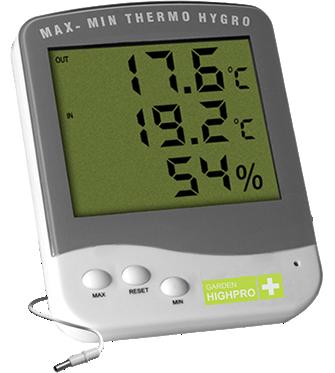 Hygrometer - Garden High Pro Premium, 2 Messpunkte