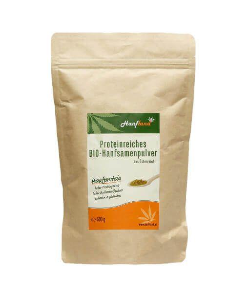 Bio Hanfprotein 54 % Protein 250g