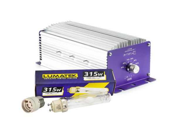Lumatek 315W CMH Set inkl. E40 Adapter