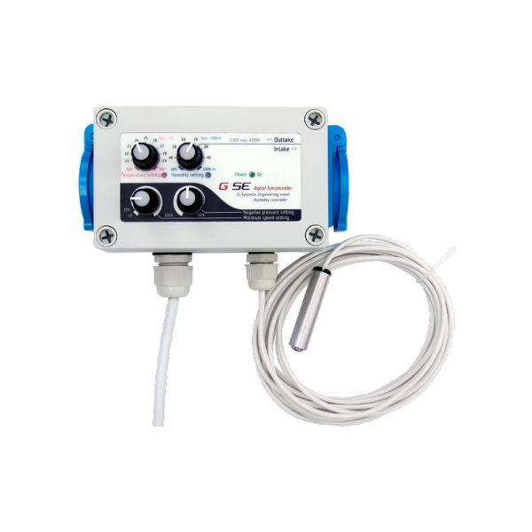 GSE Temperatur, Luftfeuchtigkeit und Unterdruck Controller