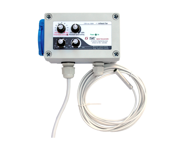 GSE Temperatur und Minimum-Maximum Hysteresis Speed Controller