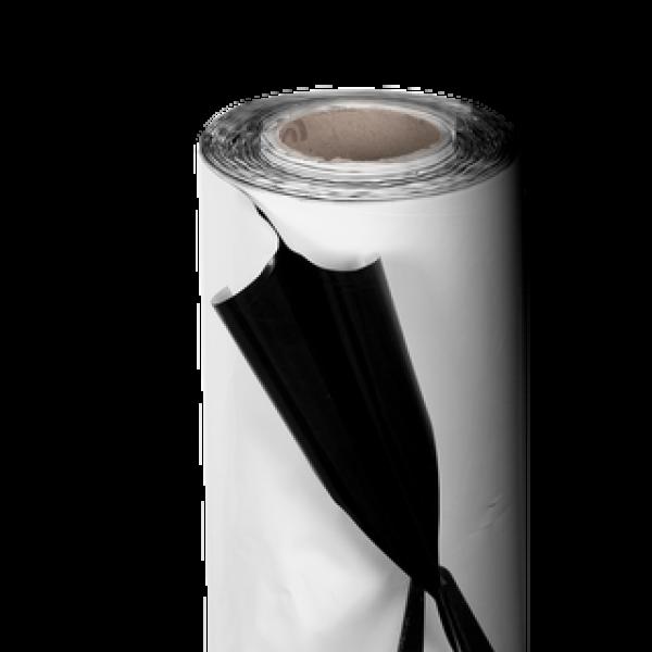 Schwarz/Weiß Folie 125mu / 2 x 100m