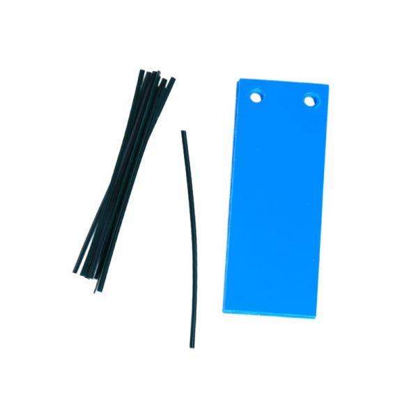 Blautafeln, 10 Stück, 12 x 5 cm
